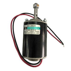 Electric Motor 24v 3000rpm High Speed Cw ccw Reversible Permanent Magnet Dc