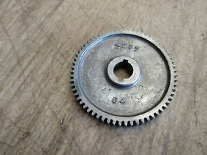 Vintage Craftsman 109 6 Lathe Change Gear 64t Tooth 1 2 Bore 3253