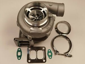 Universal Gt3582 T4 V Band Billet Turbocharger A R 1 00 A R 70 Water Oil Cooled