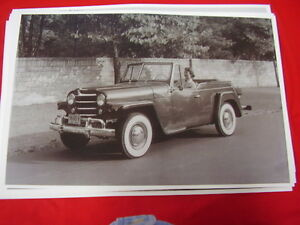1948 Willys Jeepster 2 11 X 17 Photo Picture
