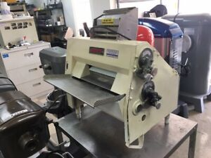 Pizza Roller Anets Sdr 21 Double Pass Dough Roller Table Top Model