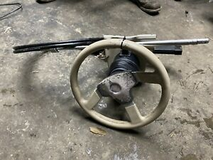 Raid Dino Steering Wheel With Rack Assy And Teleflex Cable