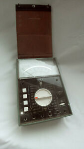 Xerox Vintage Amp volt ohm Meter portable Size Of 7 X 5 X 2 25