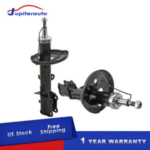 2x Pair Rear Shocks Struts Absorbers For Toyota Corolla Chevy Prizm 1998 2002