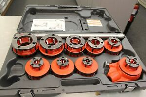 Ridgid 00r Pipe Threader Set With 460 6 Tristand Chain Vise 1 8 6 More