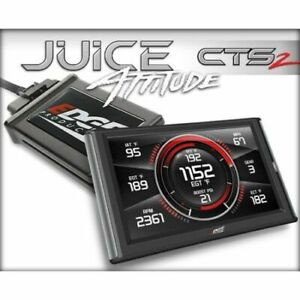 Edge Products 21500 Juice Tuner With Attitude Cts2 For Chevy Duramax 6 6l New