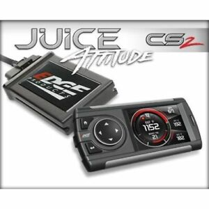 Edge Products 21401 Juice Tuner With Attitude Cs2 For Duramax 6 6l Lly New