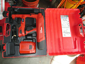 Hilti Bx 3 a22 Battery Actuated Fastener Fastening Tool Kit 22v Used 931