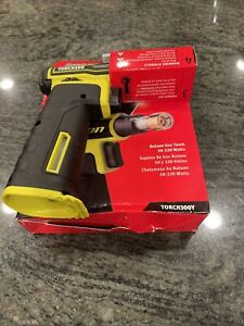 New Snap On Torch300y Butane Gas Torch In Hi Viz Yellow