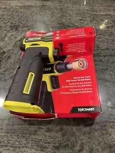 New Snap On Torch400y Butane Gas Torch In Hi Viz Yellow