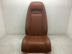 04 10 Bentley Continental Gt Right Rear Seat Top Bottom Saddle Leather Seat