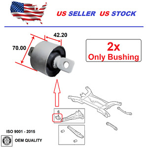 Trailing Arm Bushing For Dodge Caliber 2007 2012 Jeep Compass Patriot 2007 2017