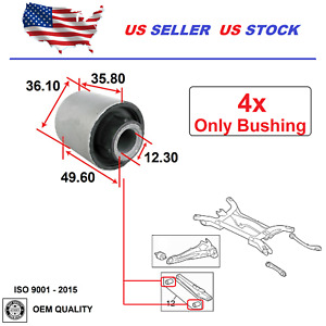 Lateral Arm Bushing For Dodge Caliber 2007 2012 Jeep Compass Patriot 2007 2017