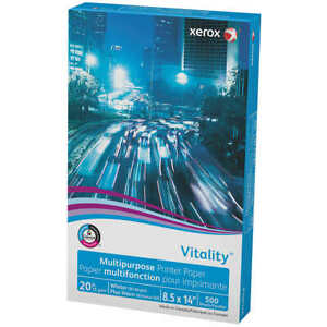 Xerox Vitality Multipurpose Printer Paper Legal 20lb 92 bright 500 Sheets
