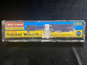 Craftsman Professional 3 8 In Ratchet Wrench Brand New In Box 919919