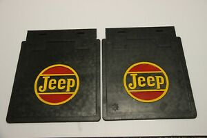 Fits Willys Jeep Cj2a Cj3a Cj3b Cj5 Mud Flaps Set