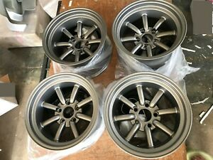 For 180sx S30 240z Z31 240sx S13 Silvia Jdm 15 114 3x5 Retro Banana Style Wheels