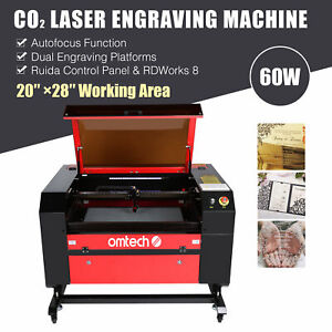 Co2 Laser Engraver Cutter Ruida Dsp Auto Focus Electric Lift Table 20 X 28 60w