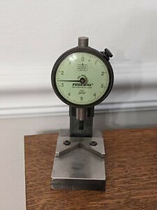 Federal Gage Dial Indicator 0001 C21 With Heavy Duty Mount
