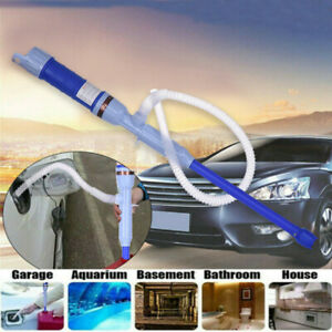 Water Pump Liquid Transfer Gas Oil Siphon Battery Operated Electric Fish Tank Us