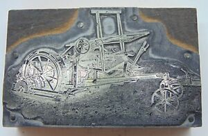 Printing Letterpress Printers Block Antique Machine