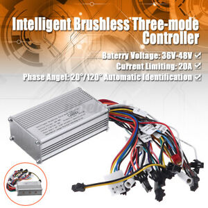 600 1000w High Power Electric Dc 36 48v Brushless Dc Motor Speed Controller Hall