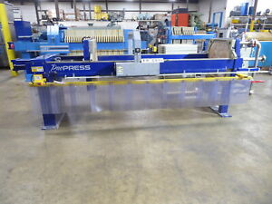 Pacific 20 Cu Air Over Hydraulic Filter Press Fp2415 fp2415