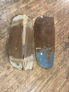1941 Cadillac Fender Skirts Solid Pair Original