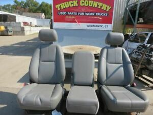 Driver Front Seat Bucket Bench Manual Fits 11 14 Sierra 2500 Pickup 182703