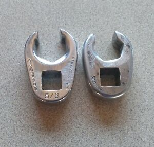 Snap on Crowfoot Flare Nut Wrenches