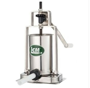 Lem Mighty Bite 5 Lb Stainless Steel Vertical Sausage Stuffer