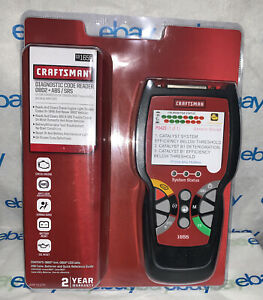 Craftsman 091655 Diagnostic Code Reader Obd2 Abs Sts Easy To Use Color Screen