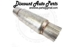 Plm Twisting Race Diesel Muffler 4 Id 17 Long Made Of 409 Stainless Steel Tig