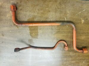 Case 155 Tractor Hydraulic Oil Lines Tubes Pump To Valve Pump To Transmission