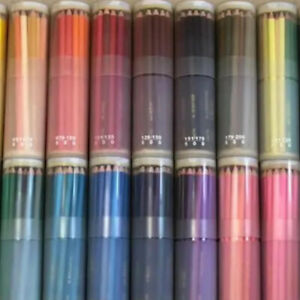 Mitsubish Felissimo 500 Colored Pencils Made In Japan