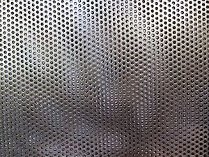 3 32 Hole 16 Ga Perforated 304 Stainless Sheet 3 X 10