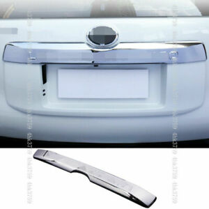 Chrome Rear Door Trunk Lid Cover Trim For Toyota Land Cruiser Prado 2018 2021