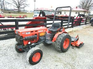 Kubota B7100 4x4 With Finish Mower Pkg Deal free 1000 Mile Delivery From Ky