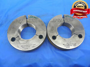 1 3 4 18 Ns 2 Thread Ring Gages 1 75 Go No Go P d s 1 7139 1 7067 Uns 2