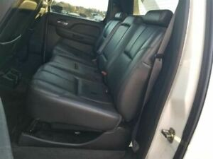 2007 13 Chevy Avalanche Rear Seat Set Black Leather