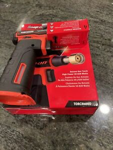 New Snap On Torch400o Butane Gas Torch In Orange