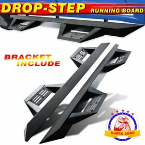 Fit 2005 2021 Toyota Tacoma Double Cab Step Board Running Boards Nerf Bar Bzl