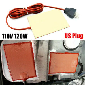 Car Engine Oil Pan Tank Heater Pad Silicone Oil Heating Pad Engine Wear Protect