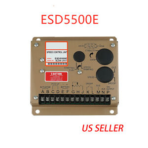 Electronic Engine Speed Controller Governor Esd5500e Generator Genset Parts