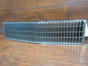 Cadillac Seville 1977 1978 1979 Chrome Upper Grille With The Metal Frame