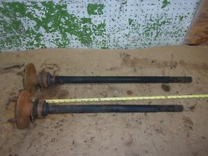 1975 1978 Ford Mustang Ii V8 Engine Rear End Drop Out Left R Axle Pinto Oem