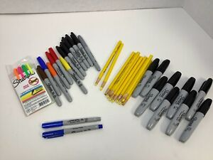 Sharpie Permanent Markers peel off China Markers Assortment 38 Total