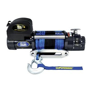Superwinch 1612201 Talon 12 5sr Winch 12500 Lbs 3 8 In X 80 Ft Synthetic Rope