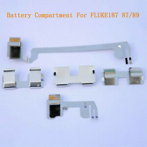 Multimeter Battery Compartment Contact Piece For Fluke187 87 89 4 Generation 189