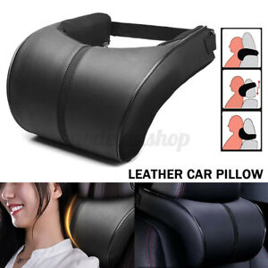 Car Seat Pillow Auto Memory Foam Neck Head Rest Cushion Soft Headrest Pad Travel